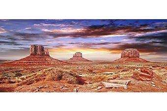 (18x48) - Reptile Habitat, Terrarium Background, Cool Desert Sky - (Various Sizes)