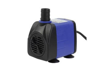 (160 GPH) - AQUANEAT Submersible Water Pump Adjustable Powerhead Aquarium Fish Tank Fountain Hydroponic