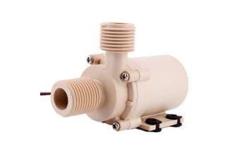 Zjchao 12v 24v Solar Dc Hot Water Circulation Pump Brushless Motor Water Pump 3m 5m ...