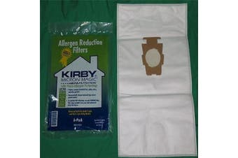 Genuine Kirby Style F or G Vacuum Bags Micron Magic Sentria Vac Cloth HEPA Type [Single Loose Cloth HEPA Bag]