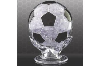 FOOTBALL 3D CRYSTAL PUZZLE