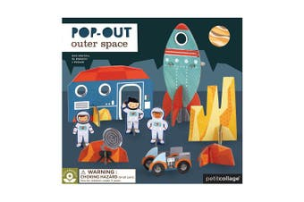 (Space) - Petit Collage Outer Space | Pop-Out Puzzle