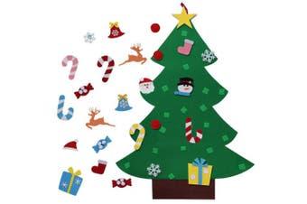 AerWo DIY Felt Christmas Tree + 26pcs Ornaments, Christmas Gifts for Kids Xmas Decorations