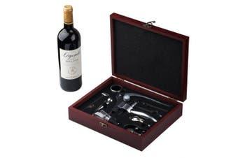 Cooko Rabbit Wine Opener Set,Manual Wine Bottle Opener Kit with Aerator, Zinc Alloy Handle Corkscrew ,Deluxe Wine Opener Accessories with 9 Pieces