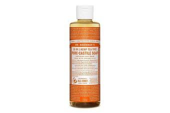 Dr. Bronner's Magic Soaps Fair Trade and Organic Castile Liquid Soap, Tea Tree, 8 Fluid Ounce