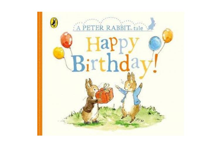Peter Rabbit Tales - Happy Birthday [Board book]