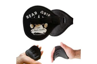 Bear Grip® (LEATHER) - Gym Weight Lifting Grips / Gym gloves