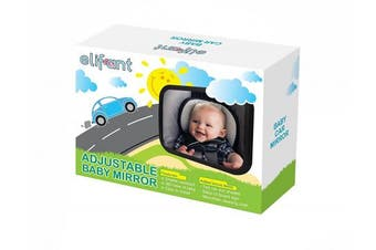elifant Car Mirror - Rear Facing Baby Mirror