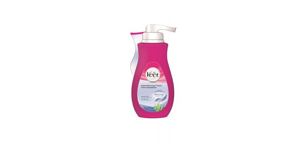 Sensitive Skin 400 Ml Veet Depilatory Cream Silk Fresh