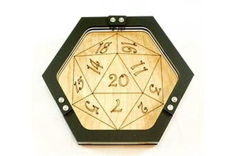 Mini Personal Size Gaming D20 Dice Tray ~ by C4Labs