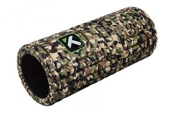 (Camo) - TriggerPoint GRID Foam Roller with Free Online Instructional Videos, Original (33cm )