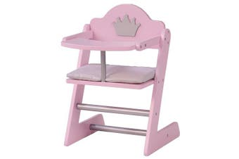 (Doll high chair) - Roba Sophie Doll Furniture Princess Series Doll Accessories Pink Lacquer