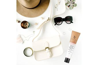 (Light Beige) - Tinted Sunscreen for Face - SPF 20 With Natural & Organic Ingredients Broad Spectrum Sunblock Lotion, Tinted Moisturiser Zinc Oxide Sunscreen Face for Skincare, Facial Sunscreen (Light Beige)