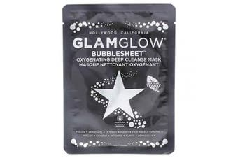 Glamglow Bubblesheet Oxygenating Deep Cleanse Mask By Glamglow for Women - 1 Pc Mask