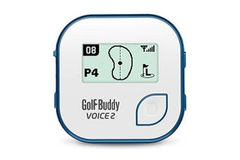 (White/Blue) - GolfBuddy Voice2 Golf GPS System (2019)