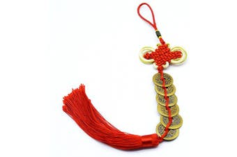 (6 coins) - Chinese Feng Shui Coins for Wealth and Success (6 coins)