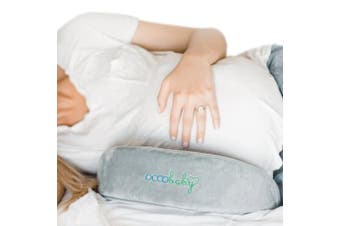 OCCObaby Pregnancy Wedge Pillow | Memory Foam Maternity Pillow for Body, Belly, Knees and Back Support
