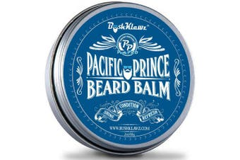 Pacific Prince Beard Balm Leave in Conditioner Beard Butter Premium Midnight Ocean Breeze Scent 60ml