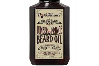 (Beard Oil 60ml, Lumber Prince) - Lumber Prince Beard Oil Conditioner Premium Beard Moisturiser Manly Woodsy Musk Scent 60ml - Best Lumberjack Beard Oil for Bearded Men
