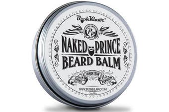 Naked Prince Scent Free Beard Balm Leave in Conditioner Beard Butter Moisturiser Premium Scentless Fragrance-Free 60ml