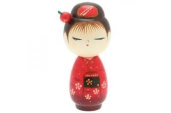 Usaburo Japanese Kokeshi Doll: Big Sister Mineko #590-225
