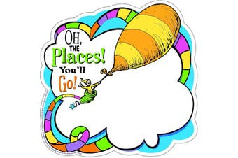 (Oh The Places) - Paper Magic Eureka Dr. Seuss Oh The Places Paper Cut Outs