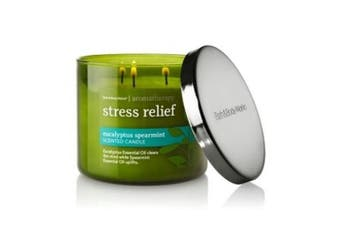 (Eucalyptus Spearmint) - Bath & Body Works Aromatherapy Stress Relief Eucalyptus Spearmint Scented Candle 430ml 3 wick