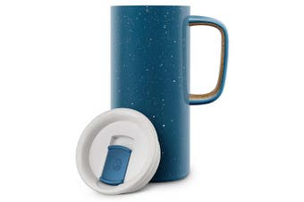 (Navy) - Ello Campy Vacuum-Insulated Stainless Steel Travel Mug