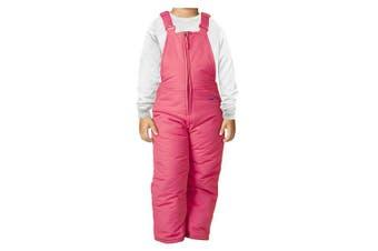 (fuchsia, 5t) - Arctix Infant/Toddler Chest High Insulated Snow Bib Overalls