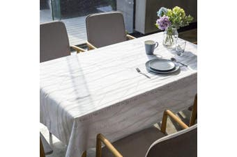 """(54"""" x 84""""-140x213 cm, Tree Branch) - LeeVan Heavy Weight Vinyl Rectangle Table Cover Wipe Clean PVC Tablecloth Oil-proof/Waterproof Stain-resistant/Mildew-proof (54"""" x 84""""-140x213 cm, Tree Branch)"""