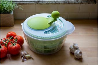 (Applegreen) - Westmark Germany Vegetable and Salad Spinner with Pouring Spout (Green/Clear)
