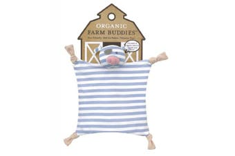 Organic Farm Buddies Blankie Pirate Pig