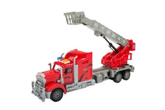 RC Rough Terrain Adjustable Construction Crane with Basket