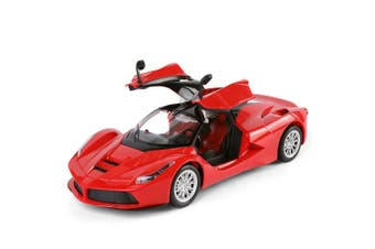 Gravity Sensor Cherry Red RC Fully Functioning Drifter Race Car Convertible 1:14 Scale