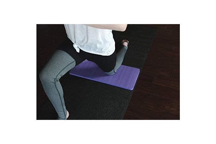 (Purple) - SukhaMat Yoga Knee Pad Cushion – America's Best Exercise Knee Pad - Eliminate Pain During Yoga or Exercise - Extra Padding & Support for Knees, Wrists, Elbows - Complements Your Yoga Mat