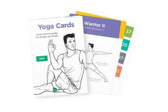YOGA CARDS – Premium Visual Study, Class Sequencing & Practise Guide with Essential Poses, Breathing Exercises & Meditation · Plastic Flash Cards Deck with Sanskrit by WorkoutLabs