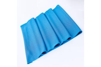 QIDIANTRADE Evaporative Cooling Towel,100cm x 30cm Snap Cooling Towel for Sports, Workout, Fitness, Gym, Yoga, Pilates, Travel, Camping & More