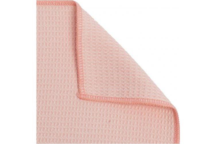 (Standard, Sakura Pink) - Shandali Hot Yoga Towel - Stickyfiber Yoga Towel - Mat-Sized, Microfiber, Super Absorbent, Anti-Slip, Injury Free, 60cm x 180cm - Best Bikram Yoga Towel - Exercise, Fitness, Pilates, and Yoga Gear