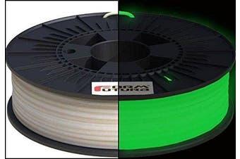 Formfutura 2.85mm EasyFil PLA - Glow in the Dark Green - 3D Printer Filament