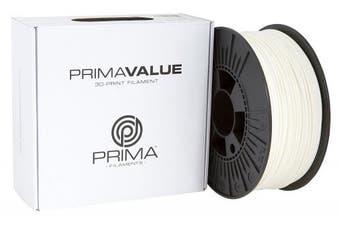 PrimaValue ABS Filament - 2.85mm - 1 kg spool - White