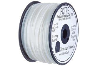 3D Prima 10377 Taulman PCTPE Filament, 3 mm, 0.45 kg Spool, Clear