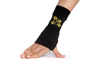 (Left - Medium, Single) - CopperJoint Copper-Infused Compression Wrist Sleeve, High-Performance Design Promotes Improved Circulation to Help Reduce Inflammation and Pain, Single Sleeve