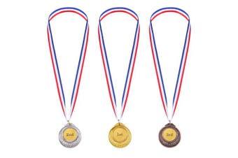 Gold Sliver Bronze Olympic Style Metal Winner Medals Gold Sliver Bronze Awards