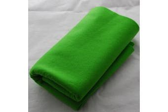(Bright Lime Green) - 100% Pure Wool Felt Fabric - 1mm Thick - Bright Lime Green - 40cm x 50cm