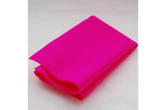(Hot Pink) - 100% Pure Wool Felt Fabric - 1mm Thick - Hot Pink - 40cm x 50cm