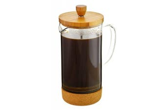 Melbourne French Press Coffee Maker with Bamboo lid and Cork base