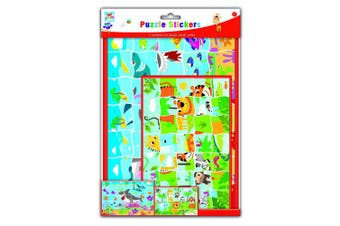 Anker Kids Create/Arts and Crafts Puzzle Sticker Set, Plastic, Assorted Colour, 29.7 x 21 x 2 cm, A4/A5