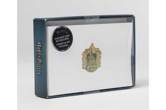 Harry Potter: Slytherin Crest Foil Note Cards: Set of 10