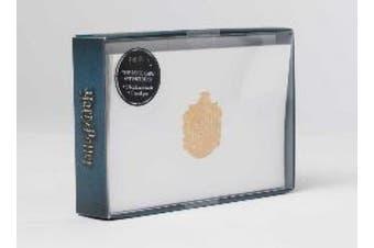 Harry Potter: Hufflepuff Crest Foil Note Cards: Set of 10