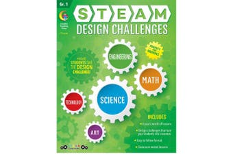 STEAM Design Challenges Resource Book, Gr. 1, CTP 8208